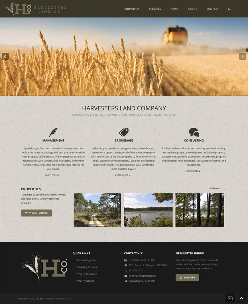 Harvesters Land Company